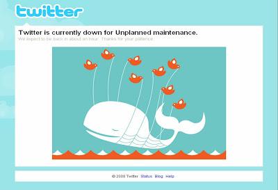 微博服务大肆流行,Twitter 宕机鲸鱼惊现日本动画《龙×虎》