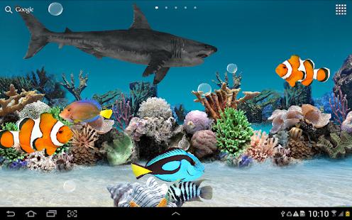 3D Aquarium Live Wallpaper HD Screenshot Thumbnail