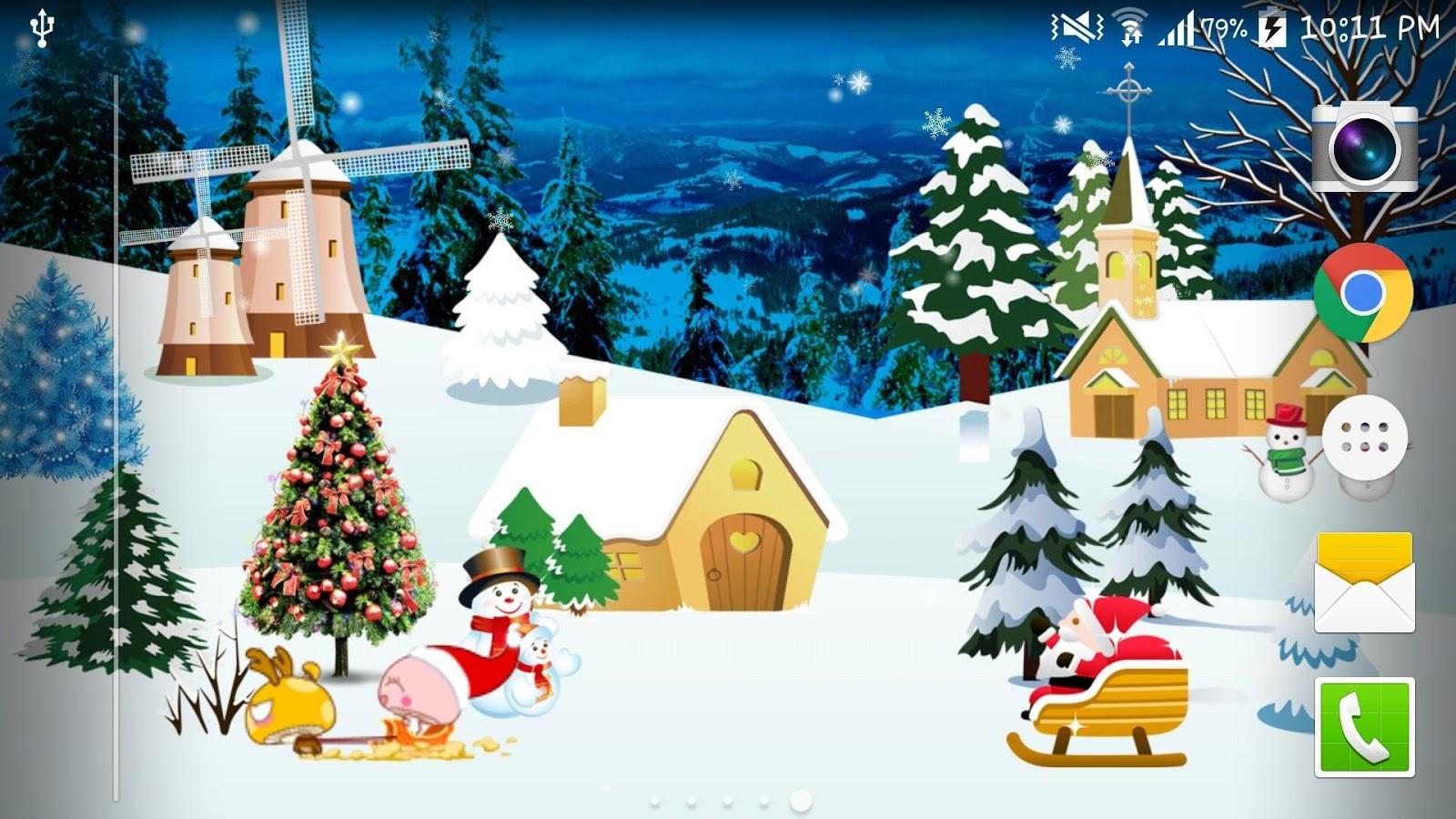 Collection Image Wallpaper Gambar 3d Tema Natal