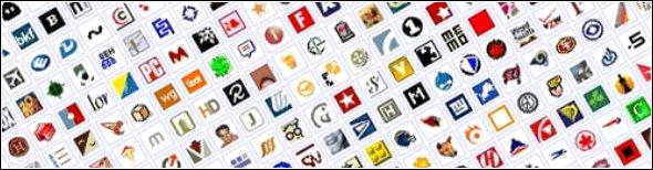 Conjunto de icones favicons.