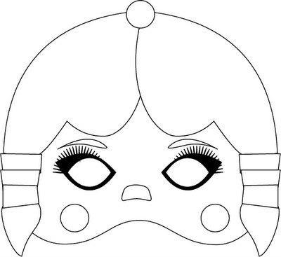 Mascaras De Indios Para Niños