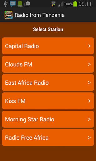 從坦桑尼亞廣播電台