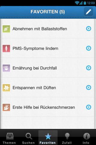 99 Tipps für mehr Gesundheit- screenshot