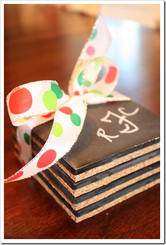 Chalkboard Coasters And Tutorial A Thoughtful Place
