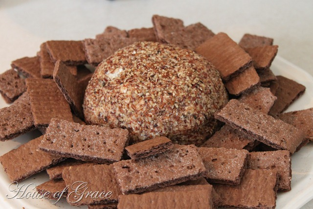 Chocolate Chip Cheese Ball Recipe | Bonnie Donahue