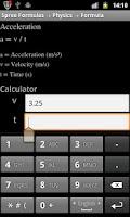 Screenshot of Spree Formulas