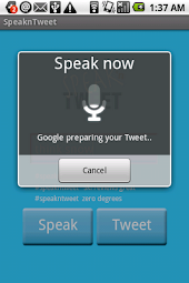 SpeaknTweet Lite