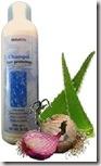 shampoo proteinico con zabila y cebolla