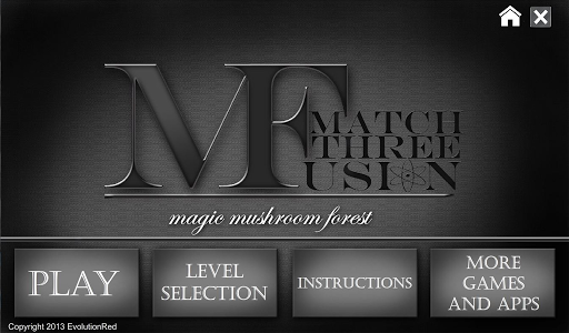Magic Mushrooms Match 3 Fusion