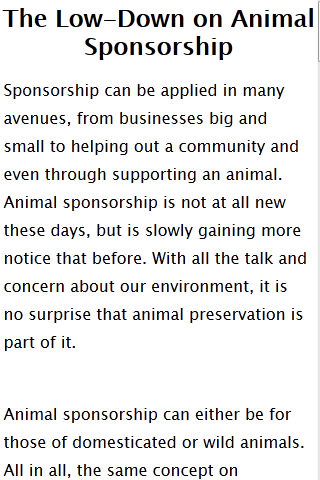 Sponsorship 101 free - screenshot