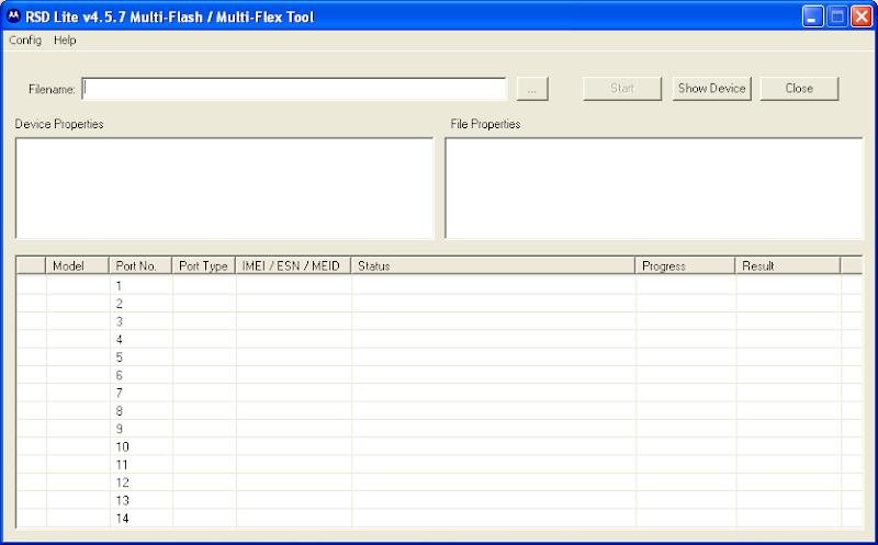 RSD lite - Motorola SBF Files