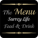 Surrey Life - The Menu icon