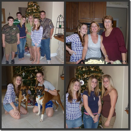 Picnik collage christmas eve 2009