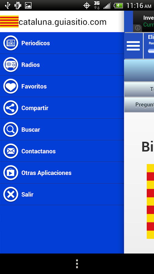 Catalonia Guide News and Radio - screenshot