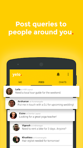 yelo - pro referral networking