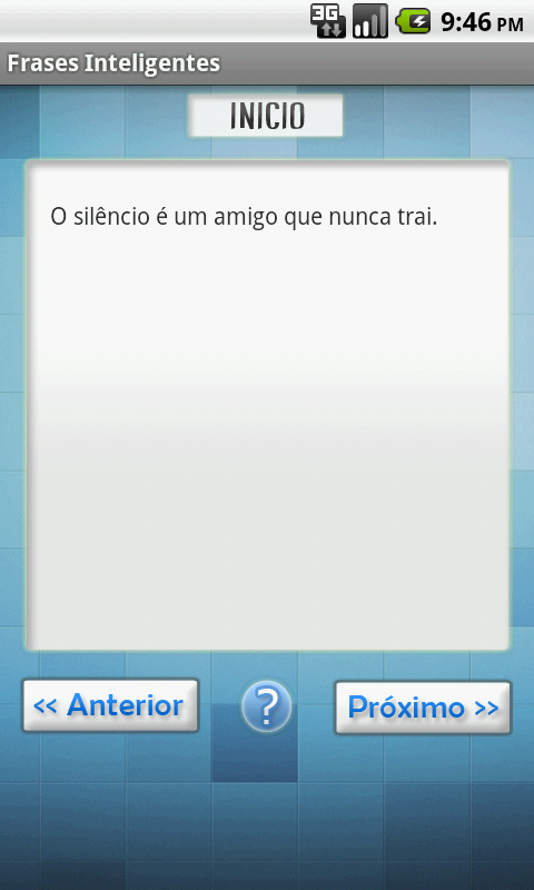 Frases Inteligentes - screenshot