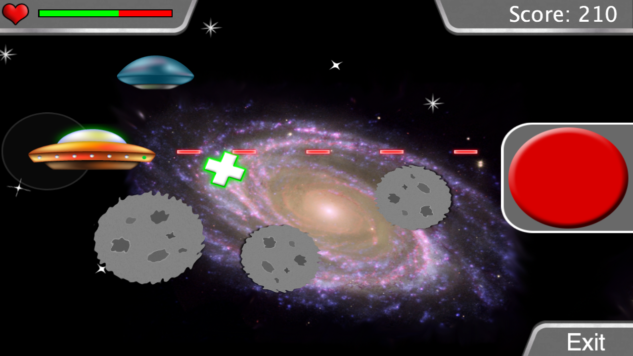 Saucer Captain: Earth Defender- screenshot