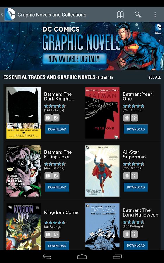 DC Comics - screenshot