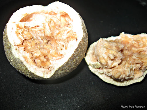Wood Apple or Bel Fruit Pulp
