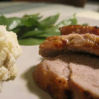 Maple Mustard Pork Loin.