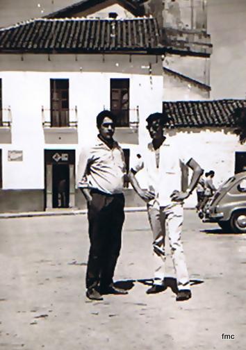 Joaquin Ruiz y Paco Muñoz en Villaharta