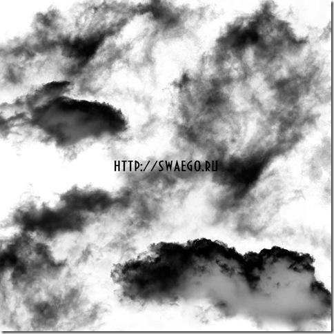 Кисти Облака-тучи для Photoshop.Скачать бесплатно.