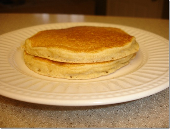 Whole Grain Pancake Mix (made with buttermilk)