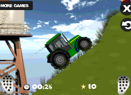 Farm driver - uphill Tractor - screenshot thumbnail