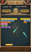 Screenshot of Egypt Break Brick
