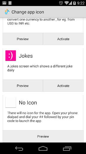 Hide Icon Plugin