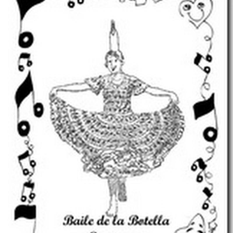 Danza Paraguay Dibujos Para Colorear