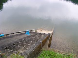 堤体に付属する階段