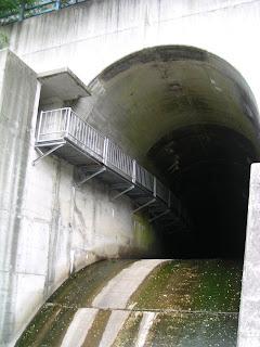 排水トンネル?