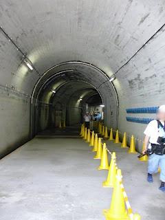 堤体直下出入口付近の監査廊