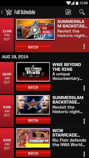 WWE скачать на планшет Андроид