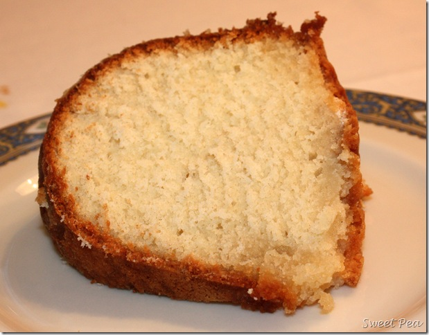 5 Flavor Pound Cake - This is the best pound cake recipe you'll ever try.  virginiasweetpea.com  #poundcake #cakerecipe