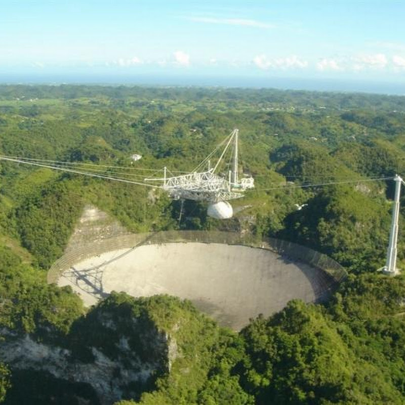 The Arecibo Observatory of the SETI Project