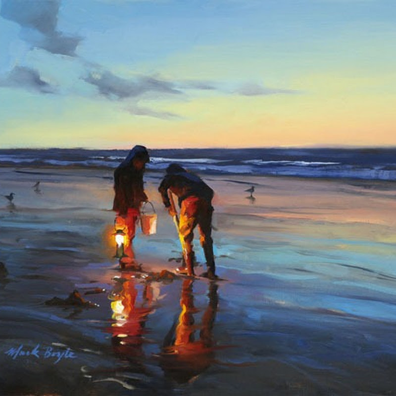 Beautiful Oil Paintings By Mark Boyle