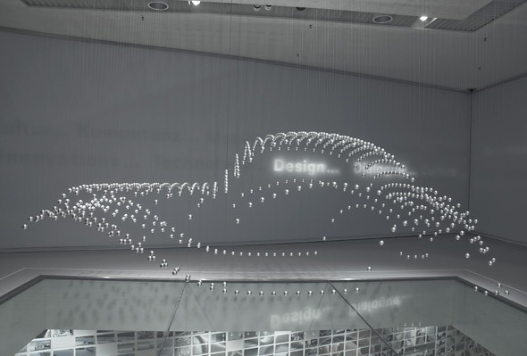 Kinetic Sculpture At Bmw Museum Amusing Planet