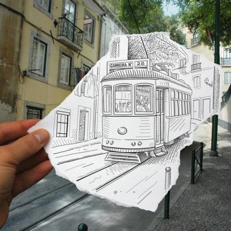 Pencil Vs Camera: Creative Photography by Ben Heine