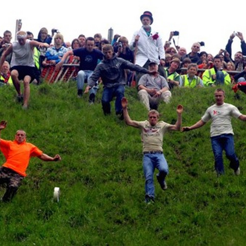 Cooper's Hill Cheese-Rolling Competition