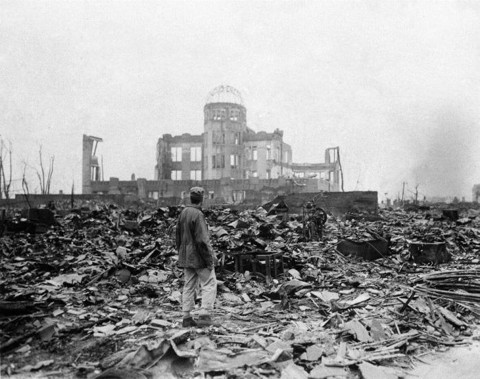 WWII HIROSHIMA AFTERMATH