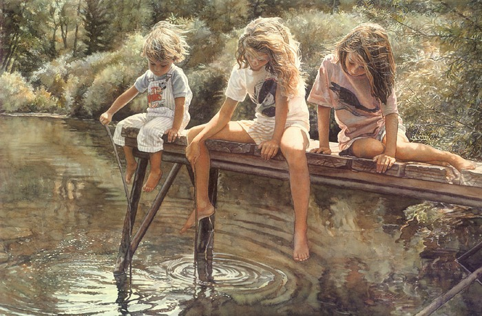 mesmerizing watercolor art by steve hanks amusing planet