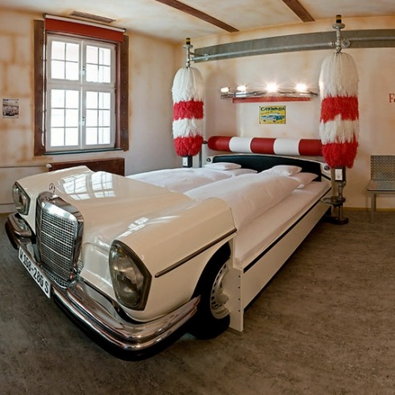 V8 Hotel for Car Lovers in Stuttgart