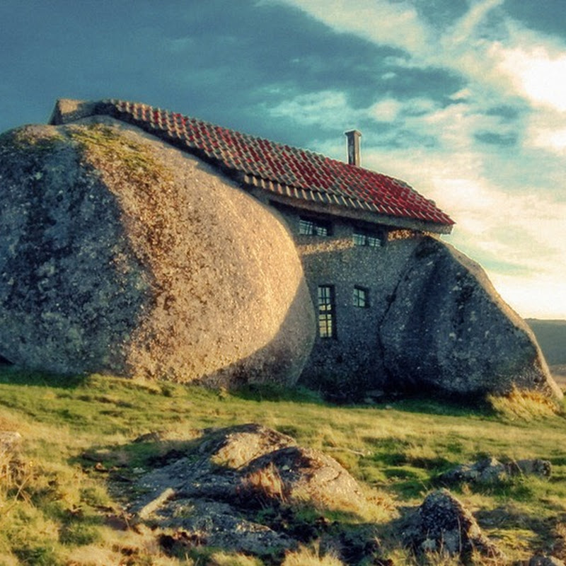 Flintstones Inspired Stone House