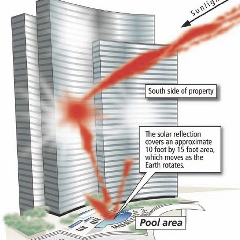 The Vdara Hotel Death Ray