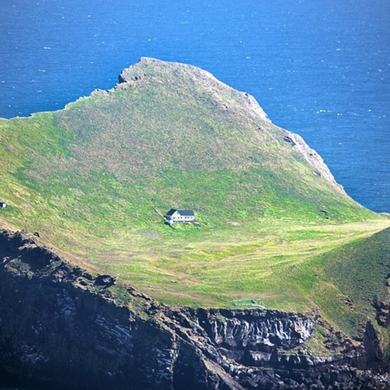 The House in the Island of Elliðaey