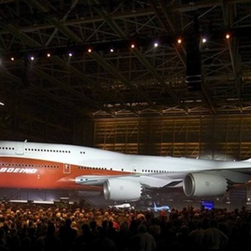 Boeing 747-8 Intercontinental Aircraft Debuts