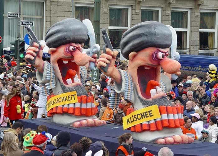 political satire at german carnival 2011 amusing planet. Black Bedroom Furniture Sets. Home Design Ideas