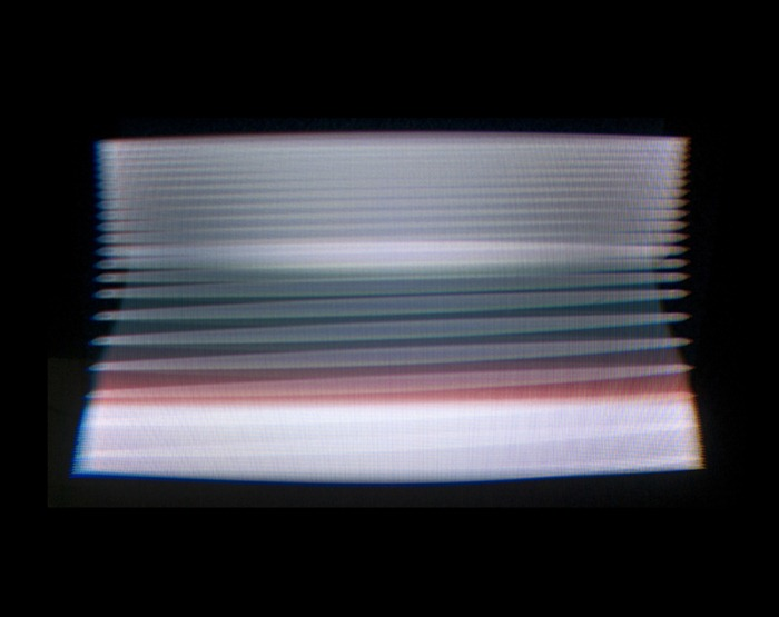 Photographs Of Television Screens The Moment Theyre Turned Off